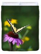Bon Voyage Butterfly Duvet Cover