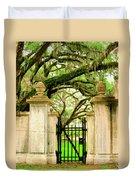 Bonaventure Gate Savannah Ga Duvet Cover