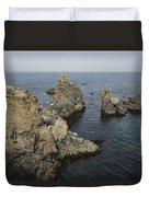 Bonavista Rocks Duvet Cover