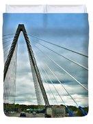 Bond Bridge In Kansas City Duvet Cover