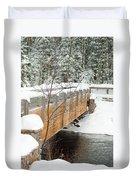 Bond Falls Bridge Duvet Cover