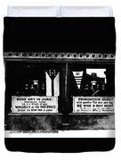 Bone Dry In June - Prohibition Sale Duvet Cover