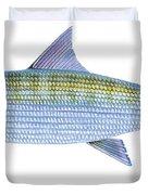 Bonefish Duvet Cover