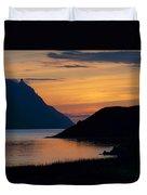 Bonne Bay Sunset Duvet Cover