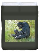 Bonobo Mother And Baby Duvet Cover