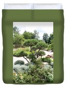 Bonsai In The Park Duvet Cover