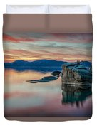 Bonsai Sunset 2 Duvet Cover