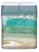 Boogie Board Surfing Duvet Cover