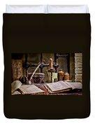 Book Keeper Duvet Cover