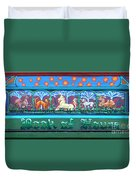 Book Of Hours Duvet Cover