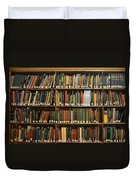 Bookshelves Duvet Cover
