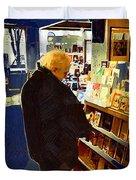 Bookstore Dreamer Duvet Cover
