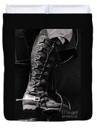 Medieval Faire Boot Detail Duvet Cover