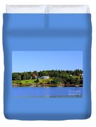 Booth Bay Duvet Cover