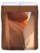 Bordered Rock - Antelope Canyon Duvet Cover