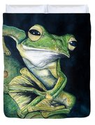 Boreal Flyer Tree Frog Duvet Cover
