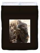 Bored Buffalo Duvet Cover