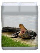 Boring And Yawning Duvet Cover
