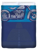 Born Free Born To Ride Duvet Cover