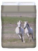 Lipizzaner Stallions Duvet Cover
