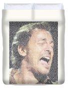 Born To Run Mosaic Duvet Cover