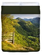 Borrowdale Valley - Lake District Duvet Cover