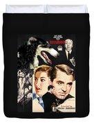 Borzoi Art - Suspicion Movie Poster Duvet Cover