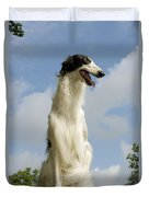 Borzoi Or Russian Wolfhound Duvet Cover