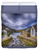 Boscastle Harbour Duvet Cover
