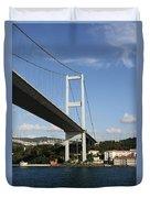 Bosphorus Bridge Istanbul Duvet Cover