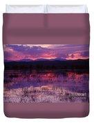 Bosque Sunset - Purple Duvet Cover