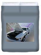 Boss 302 Mustang Duvet Cover
