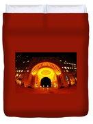 Boston - 50 Rowes Wharf Arch Duvet Cover