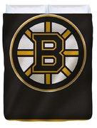 Boston Bruins Uniform Duvet Cover