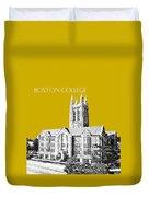 Boston College - Gold Duvet Cover