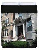 Boston Doorway Duvet Cover