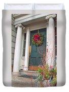 Boston Doorway Two Duvet Cover