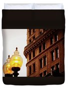 Boston Gas Light Duvet Cover