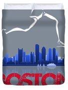 Boston Marathon3 Duvet Cover