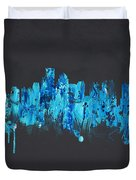 Boston Massachusetts Usa Duvet Cover by Aged Pixel