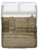 Boston Museum Of Fine Art On Copley Square Massachusetts Circa 1900 Duvet Cover
