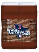 Boston Red Sox World Champions Duvet Cover