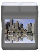 Boston Reflections Duvet Cover