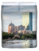 Boston Skyline II Duvet Cover