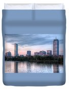 Boston Skyline IIi Duvet Cover