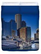 Boston-teaparty Duvet Cover