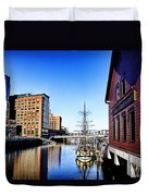 Boston-teaparty V2 Duvet Cover