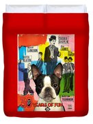 Boston Terrier Art - 30 Years Of Fun Movie Poster Duvet Cover