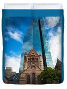 Boston Trinity Church Duvet Cover