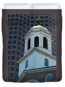 Boston's North Meeting House Duvet Cover